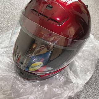 【ネット決済・配送可】ヘルメットと交換用紫外線防止シールド