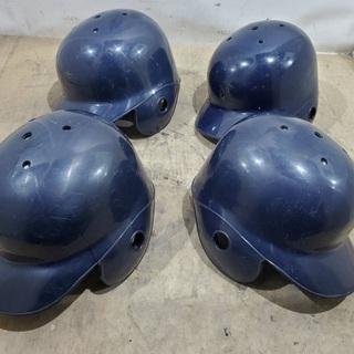軟式野球 ヘルメット 4個まとめ 少年野球