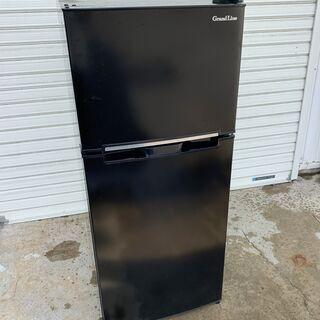 Grand Line 2ドア冷凍冷蔵庫 ARM-118L02BK...