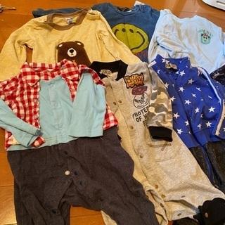 【ネット決済】男の子 冬用80サイズの洋服20点