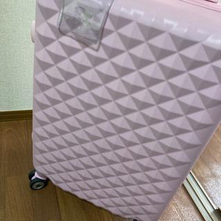 キャリーケース 旅行バック 避難用にも 大容量 ピンク