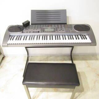 N3652 カシオ 電子キーボード ピアノ LK-80 光ナビゲ...