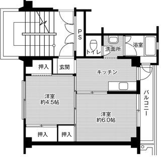 ☆地下鉄野芥駅15分☆2K☆初期費用なしシリーズ☆保証人保証会社不要☆