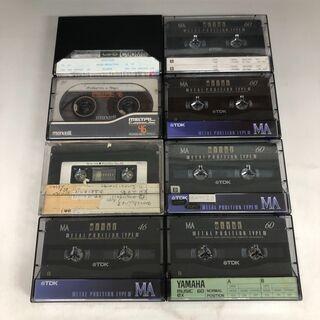 JU1/29 メタル カセットテープ 8本 TDK MA-46,...