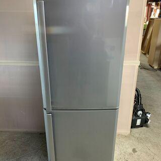 【良品】三菱 2ドア冷蔵庫 MR-H26S-S 2011年製 大...