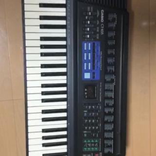 電子キーボード CASIO カシオ CT-655(61鍵盤)