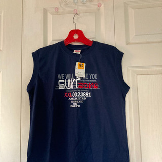 値下げ‼️新品❣️キッズ160、ランニングシャツ