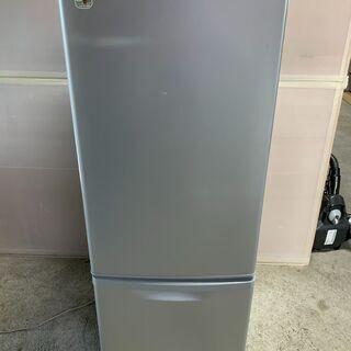 【美品】Panasonic 2ドア冷蔵庫 NR-B179W-S ...