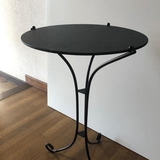 ③ ミニテーブル サイドテーブル 飾り台 飾りテーブル 脚スチー...