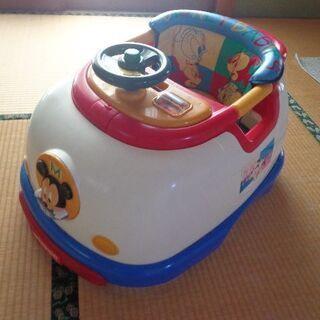 差し上げます!ミッキーマウス 新幹線タイプの歩行器 無料