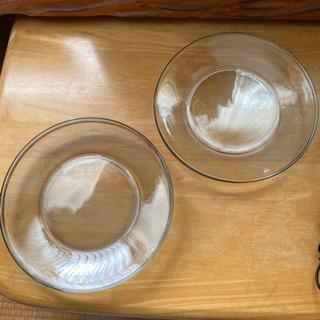 ガラス皿 5枚セットの画像