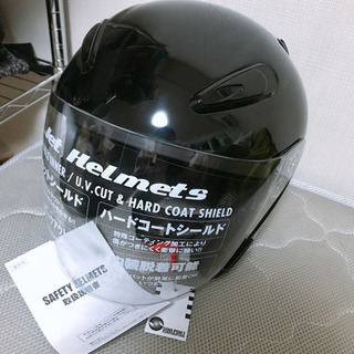 新品🌟 ヘルメット バイク用 黒