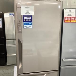 HITACHI ヒタチ 3ドア冷蔵庫観音開き  R-K37…