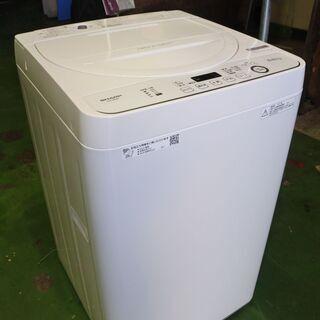 SHARP 20年式 ES-GE5D-W 5.5kg洗い …