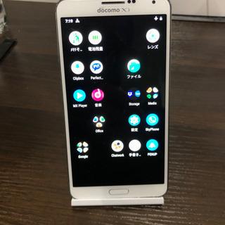 GALAXY note3 docomo Android9アップデート済