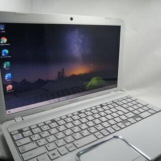 東芝 T552 美品動作良好 銀キーボード SSDメモリ6G O...