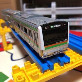 プラレール E233系湘南色東海道線