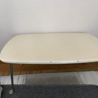 白テーブル お譲りします