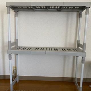 長さ・高さ調節可能☆伸縮式整理棚 2個セット お譲り致します!