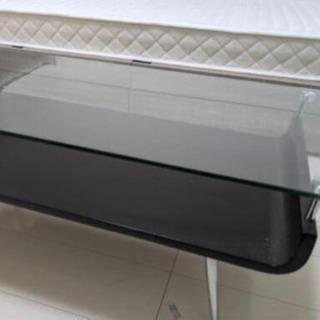 【ネット決済】おしゃれガラスのローテーブル