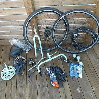 ジャンク レストアで出たゴミ タイヤ一本のみ新品