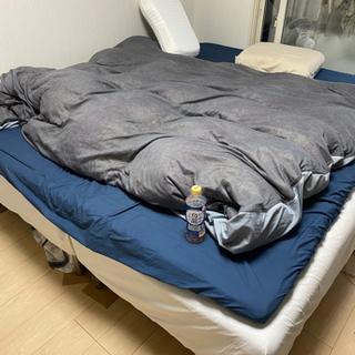 【ネット決済】【IKEA】ベッド(クイーンサイズ)