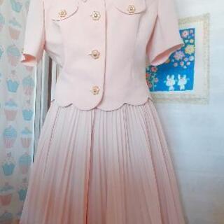 【🌟お譲り先決定】🌸桜色マカロンピンクのセットアップスーツ…