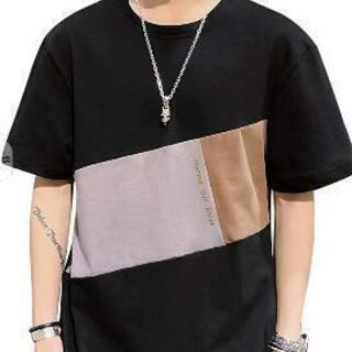 決まりました新品未使用tシャツ メンズ 半袖 夏服 カジュアル...