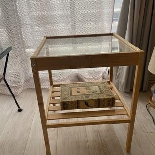 【美品】サイドテーブル+おまけ