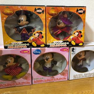 【ネット決済】ミッキーマウスコレクションドール5種