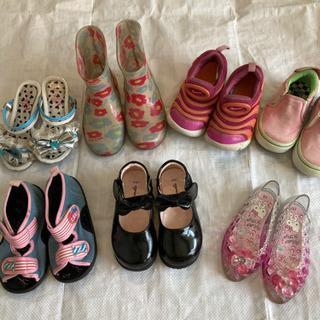 16、15㎝女の子用靴