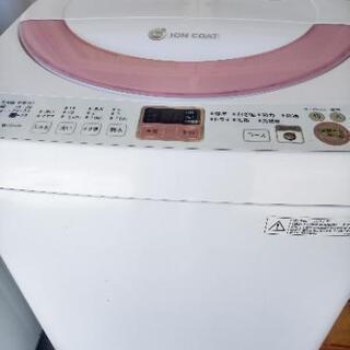 シャープ洗濯機6 kg 2014年生別館倉庫浦添市安波茶2-8-...