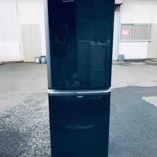 ⑤‼️370L‼️1807番 三菱✨ノンフロン冷凍冷蔵庫✨MR-...