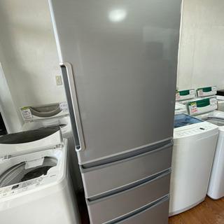 送料・設置込み 冷蔵庫 355L AQUA 2016年