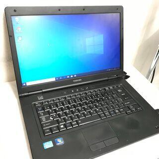 【ネット決済・配送可】快速PCノートパソコン 東芝 B552 PK49