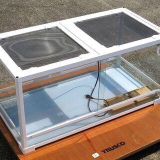 レプティワイルド 爬虫類 飼育用ケース/パンテオンWH9045/暖突L