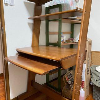 木製パソコンデスク、勉強机