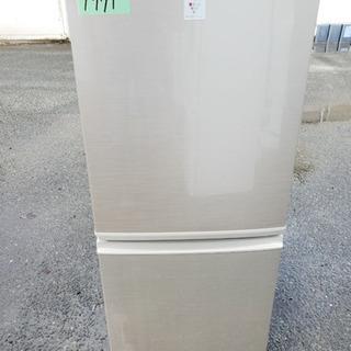 ⑤1971番シャープ✨ノンフロン冷凍冷蔵庫✨SJ-PD14Y-N‼️