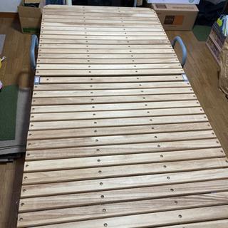 木製折りたたみベッド🍀