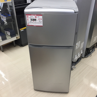 2ドア冷蔵庫 冷蔵、冷凍庫 2016年式 AQUA AQR-11...