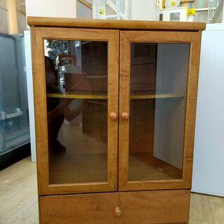 キャビネット 食器棚 ブラウン 収納 収納家具 木製チェスト 6...