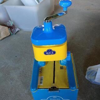 象印  ハイアイス   かき氷機械