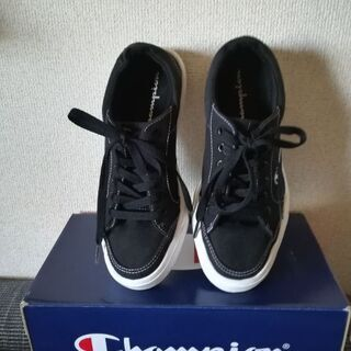 champion(チャンピオン) キャンバススニーカー 24㎝ 中古