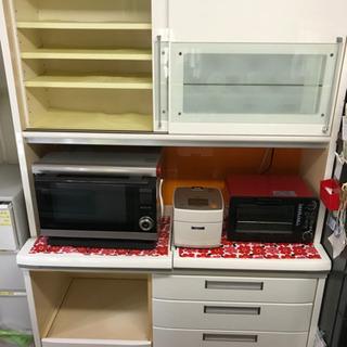 ⭐️高級食器棚、キッチンボード、幅140cm