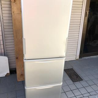 🍒大型冷蔵庫 シャープ 350L ⁉️大阪市内配達設置無料。🉐⭕...