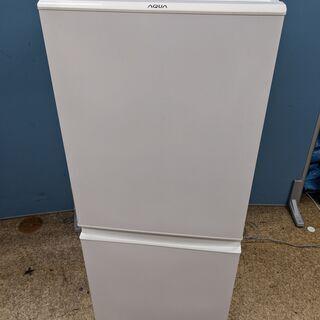 AQUA アクア 2ドア ノンフロン冷凍冷蔵庫 126L 201...