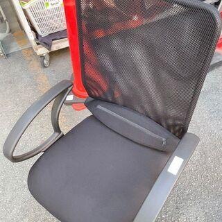☆中古 激安!! ローラー付き 椅子(黒)② 幅57cmx奥行5...