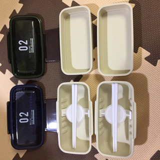 【ネット決済】2段弁当箱 2セット