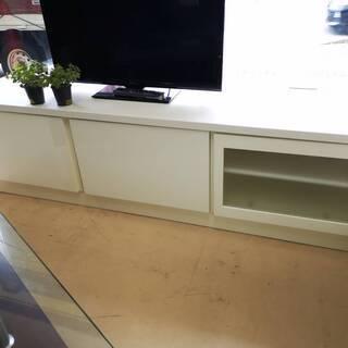 真っ白なテレビ台 (大)