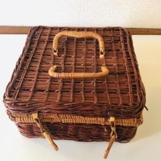 バスケット ピクニック 収納ボックス 収納カゴ おもちゃ箱 カゴ...